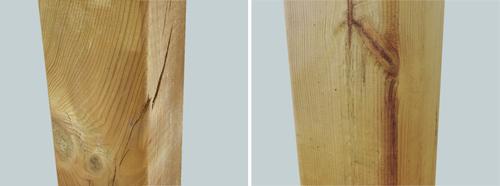 legno massello e lamellare