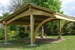 Carport in legno Revelation