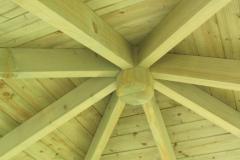 Pergola in legno Cotswold TETTO
