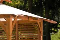 Pergola in legno Cotswold, dettaglio